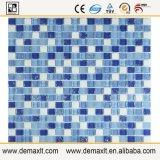 Mosaico de cristal de la piedra de la mezcla del azulejo de la piscina