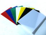 Ce en SGS keurden Gekleurd van het Plexiglas Blad Gegoten AcrylPmma- Blad goed