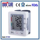 Электронный монитор кровяного давления запястья руки цифров (BP 60EH) с случаем