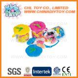 子供の安全教育おもちゃの型が付いている多彩な演劇のこね粉セット