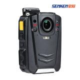 Câmera impermeável interna do corpo da polícia do IP do GPS da opção de A12 3G/4G WiFi com Visual da noite