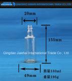 100ml de transparante Fles van de Olie van het Glaswerk met Rode Deksels