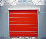 Блокировать высокоскоростной свертывает вверх двери ткани PVC