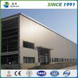 Almacén al por mayor de la estructura de acero con los paneles de emparedado de la PU