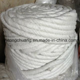 Fiber di ceramica Twisted Rope Gasket per Door Seals o Caulking