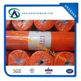Acoplamiento de alambre soldado con autógena galvanizado y PVC cubierto
