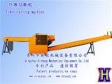 Leistungsfähige Lappen-Ausschnitt-Maschinen/Textilüberschüssige zerquetschenmaschinen-/The-Faser-Ausschnitt-Maschine