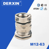 M12-M63 Long Thread Fábrica de suministro Explosion-Proof Doble-Lock Metal Cable Gland