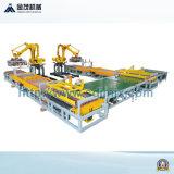 Werkt het Bewaren van de volledig Automatische Concrete het Stapelen van Bakstenen Lijn van het Product van de Machine
