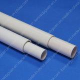 Tuyauterie électrique blanche de câblage de PVC