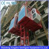 Solo alzamiento arquitectónico del elevador de estante y del piñón de la cabina