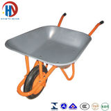 Wheelbarrow Wb6200A da bandeja do zinco