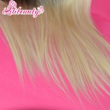 Vente en gros Straight 1b / Blonde Virgin Hair Brazilian 1b / 613 # Lace Frontal