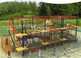 Equipamentos ao ar livre do campo de jogos das crianças de Kaiqi com atividades dos esportes (KQ60106A)