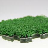 絶縁体の装飾的な緑の人工的な草のホーム装飾的な人工的な草