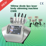 Laser Lipolaser do diodo do equipamento 650nm da perda de Cryolipolysis Weigth do punho CS06 6