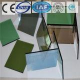 Flotteur teinté/clair vert-foncé/a gâché la glace r3fléchissante pour la construction