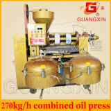 Yzlxq120熱い販売の結合された綿実オイル抽出機械