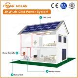 sistema eléctrico solar de la apagado-Red 3000W para el sistema casero del picovoltio de la energía solar