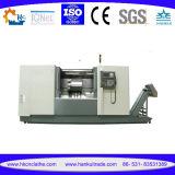 セリウムの公認の精密水平の金属の旋盤機械(CK6136A)