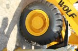 3 Tonnen chinesische niedrige Kosten-Qualitäts-hydraulische Rad-Ladevorrichtungs-