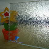 6.5mm Tinted Figured Glass/Wired Glasss/Patterned Glass/Rolled Glass com CE&ISO9001
