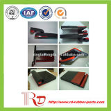 Резина Skirtboard конвейерной резиновый обходя Board/PU