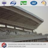Struttura del fascio del tubo d'acciaio per la tettoia del basamento dello stadio