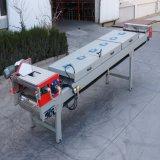 Máquina da correia transportadora refrigerar de ar do revestimento do pó