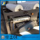 Papel higiénico automático de alta velocidad que se sienta y máquina el rebobinar en maquinaria de la fabricación de papel