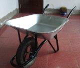 Carretilla de rueda de centro de los enchufes de fábrica
