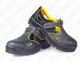 Sapatas de segurança de aço do verão do dedo do pé, especificações da sapata de segurança (RS5856)