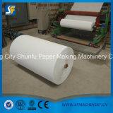Papel higiénico do tecido da pequena escala que faz o preço da máquina