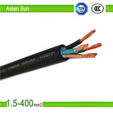 Halogen Free 5 Core Cu/PVC/Swa/XLPE 70mm2 35mm2 Electric Cable