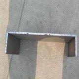 Viga laminada en caliente de la sección U del acero de carbón Ss400