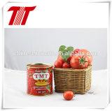 Органический и здоровый законсервированный g затир томата 400 с тавром OEM