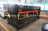 Máquina que pela hidráulica del metal de hoja de corte de la viga QC12y-6*4000 del oscilación