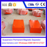 Séparateur magnétique permanent à suspension, coupe-fer