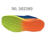 Numéro 50238 l'action de sport d'hommes chausse des couleurs de la semelle deux d'unité centrale