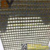 Het decoratieve Glas Gelamineerde Netwerk van de Draad van het Metaal