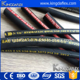 China-Marke Kingdaflex Hydraulikflüssigkeit-Stahl verstärkter hydraulischer Schlauch 1sn 2sn