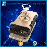 Caso a prueba de choques de la cubierta del teléfono de la PC del sostenedor del anillo de la venta caliente para Oppo R9/R9s