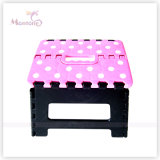 29*22*22cm Sturdy Plastic Mixed Color Foldable Stool
