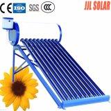 Riscaldatore di acqua solare della valvola elettronica di Ect (sistema del riscaldamento solare)