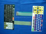 Interruptor de la película del panel de los telclados numéricos de control de pulsador de Digitaces