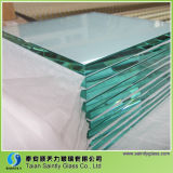 Rechteckiges Toughened Clear Float Glass für Building mit Polished Edge