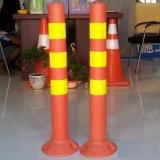 безопасность подъездной дороги PE видимости 75cm высокая предупреждая отражательный столб движения