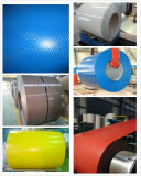 Color de acero de acero galvanizado prepintado de la bobina de la bobina PPGI cubierto