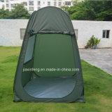 Im Freien Erscheinen-Zelt mit 2 Windows oben knallen
