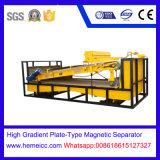 Plaque-Type élevé de gradient séparateur magnétique pour le minerai faible magnétique